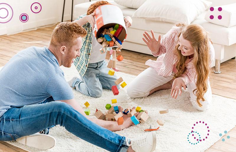 משחק משותף עם ילדים משחקי קופסא קופסה