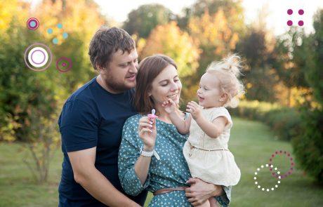 ראית את הילי וראית אותנו, גדלנו כולנו, הילי, אבא ואמא יחד בשלושה שבועות בלבד